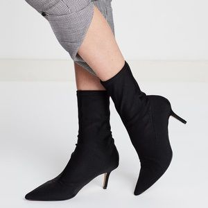 Topshop Mojito sock booties (size 7)